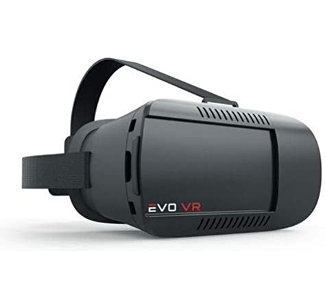 Amazon Com Evo Vr Virtual Reality Headset For All Smartphones Ios Android Black Color