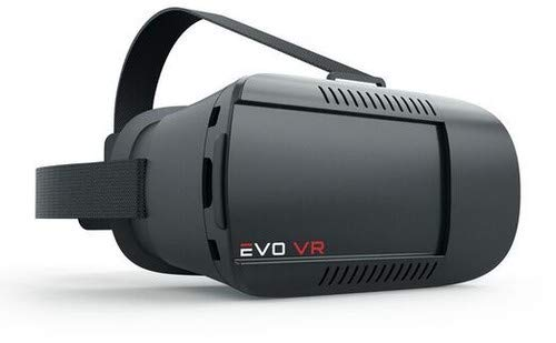 EVO VR - Virtual Reality Headset for All Smartphones - IOS & Android - Black color