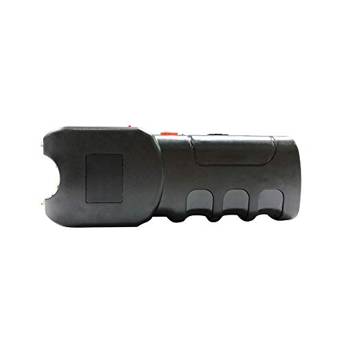 Reax Stun Gun 10 Million Volt Portable Rechargeable with LED Flashlight Personal Defense (Black) by Reax