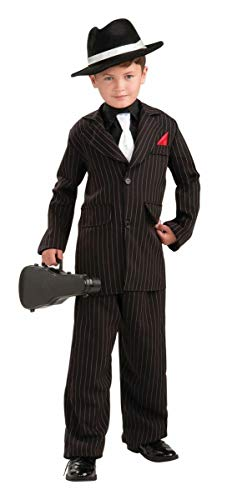 Forum Novelties Littlest Gangster Child Costume, Small