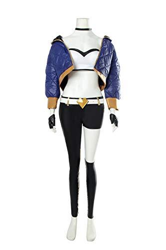 Akali Cosplay Costume Group KDA Akali Jacket for Women Cosplay Suit -