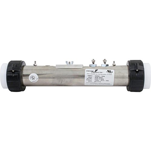 Therm C2550-1004 12'' x 2'' 230V 5.5KW Flo-Thru Heater by Therm