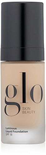 Glo Skin Beauty Luminous Liquid Foundation SPF 18 – Naturelle, Mineral Makeup Foundation, 1 fl. oz, 8 Shades | Cruelty Free