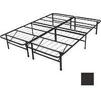 Spa Sensations Steel Smart Base Bed Frame Black King