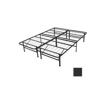 Amazon.com: Spa Sensations Steel Smart Base Bed Frame Black King ...