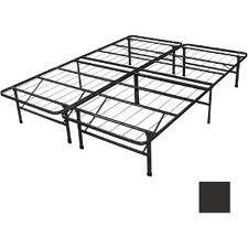 spa sensations steel smart base bed frame black king