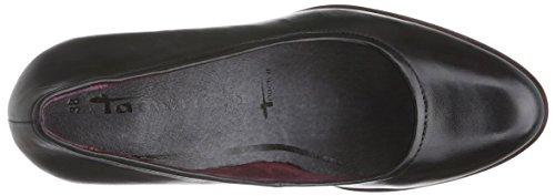 Tamaris 22425 Damen Pumps Schwarz (Black Leather 003)