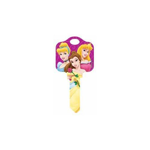 Disney House Key - Disney Princesses, Kwikset KW, Disney House Key