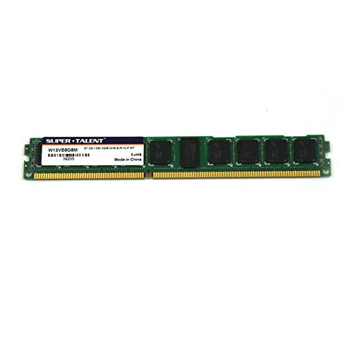 (Super Talent Flash DDR3-1333 8GB/512x8 ECC/REG CL9 Very Low Profile Server Memory W13VB8G8M(SZ)RFB)