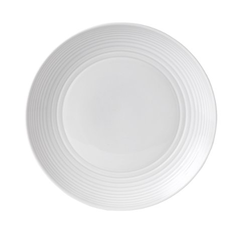Gordon Ramsay by Royal Doulton Maze White Dinner Plate, 11-Inch, Set of 4 (Royal Doulton Dinner Sets)