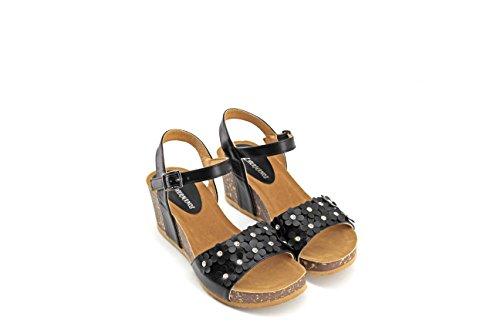 MODELISA Women's Fashion Sandals Black 0f7pMG