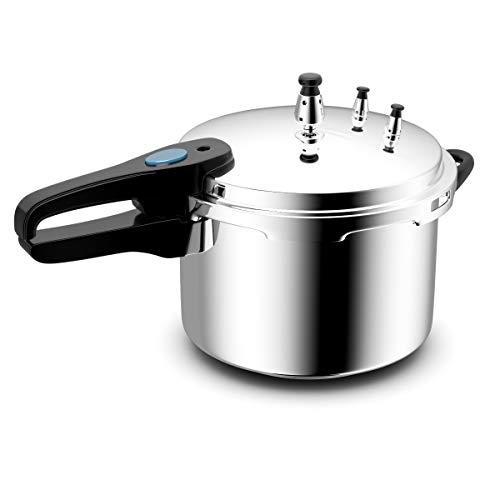 Giantex 6-Quart Aluminum Pressure Cooker Fast Cooker Home Kitchen Pot for Rice or Soup