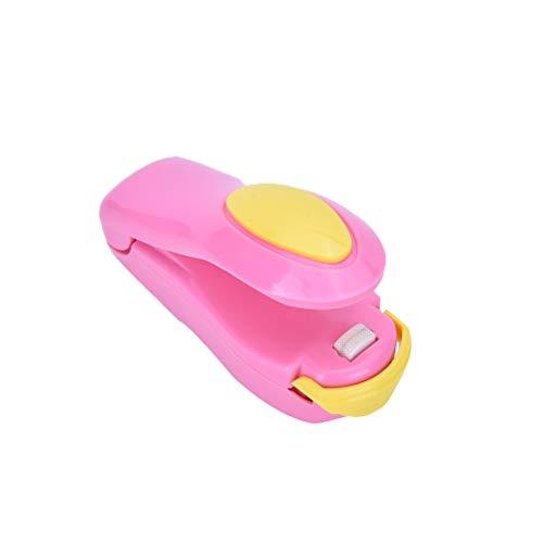 (Clip Sealer - Zlinkj Portable Electric Abs Metal Heat Sealer Sealing Machine Super Closer Heating - Pack Plastic Hand Capper Reseal Sealer Food Vacuum Aluminium Electric 3/8