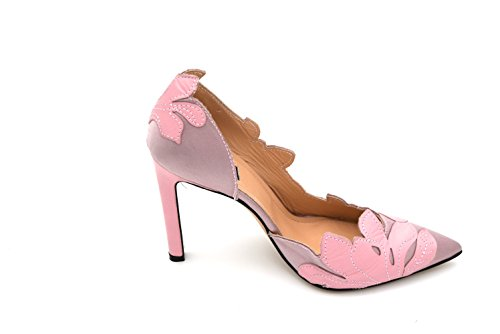 PINKO WOMAN HIGH HEELS PUMPS DECOLTE SHOES LEATHER SATIN CODE 1U202C Y2CM BARIO 37 ROSA PINK top quality cheap online wide range of sale online outlet explore store for sale pre order for sale bzuZGJF