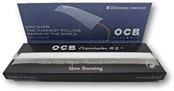 OCB Premium - Pack de 10 Libros de Papel de Liar (1000 Hojas): Amazon.es: Hogar