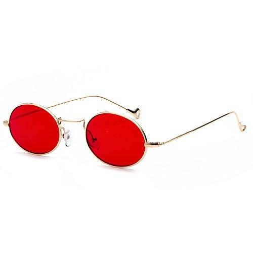 Sun Designer Woman Small Casual Sunglasses Men Uv400 Women Glasses Red Frame Fashion q4tYOWw