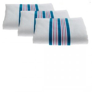 Head2Toe Hospital Receiving Blankets, Baby Blankets, 100% Cotton Stripe, 6 Pack