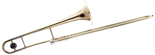 Hawk WD-TB315 Slide Bb Trombone with Case and Mouthpiece, Gold Lacquer by Hawk