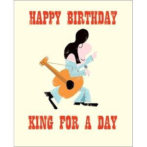 Birthday card happy birthday king for a day elvis presley birthday card happy birthday king for a day elvis presley design bookmarktalkfo Gallery