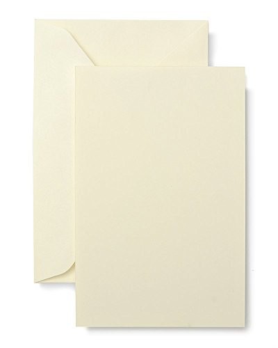 Gartner Studios Ivory Flat Panel Notecards ()