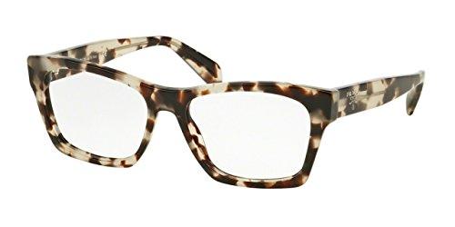 Prada PR22SV Eyeglass Frames UAO1O1-52 - Spotted Opal - Eyeglass Prada For Men Frames