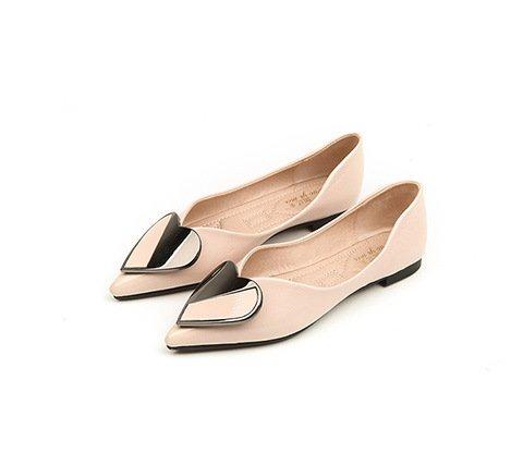 Casual fondo poco morbido singola piatto Donyyyy scarpe profonda affilato testa Forty bocca fondo Scarpe calzatura Bnq1wxZF