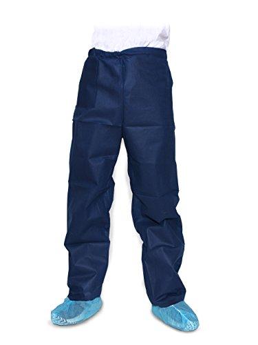 Dukal 380XXL Pants, Scrub, Disposable Scrub,  Dark Blue, XXL