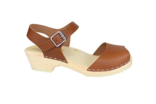 Clogs in Tan Stockholm From Low Lotta Open Wood qwPU4X0xY