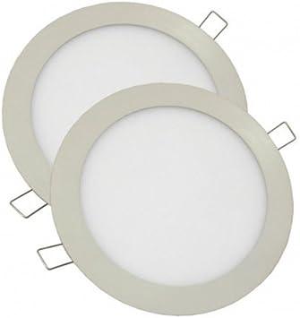 Alverlamp P2DLPLAST18W60 - Downlight led smd plastico 18w 6000k ...