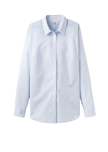 Fit Blue Casual Joules Stripe Lucieprint Loose Womens Classic Haze Printed Shirt ladies qXwRHXT