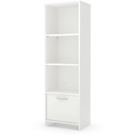 south-shore-soho-3-shelf-bookcase-with-door-white