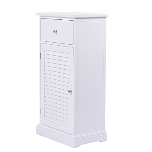 Tarragona White Floor Bathroom Cabinet : Small bathroom storage cabinets home furniture design