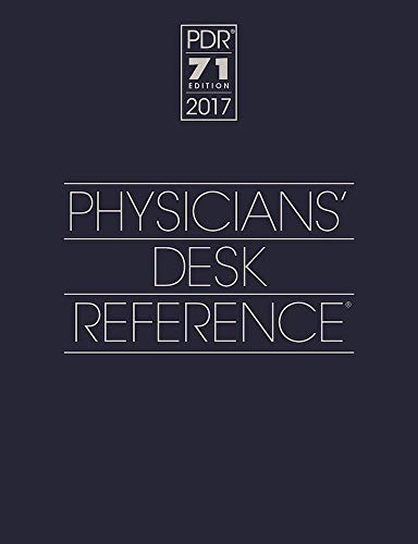 2017 Physicians' Desk Reference ...