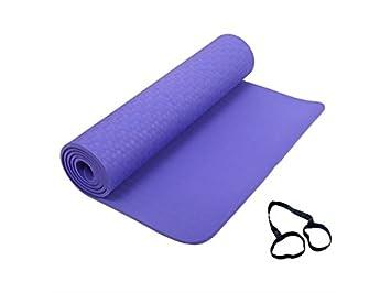 XeibD - Alfombrilla Antideslizante para Yoga, Esterilla para ...