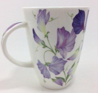 Louise Saucer - Roy Kirkham Fine Bone China Floral Sweet Pea Louise Style Mug #2