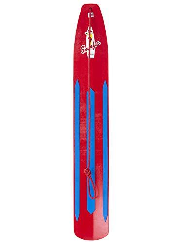WODFitters – SNURFER – The Classic Snow Surfer – Snow Surfer Board – Great Snowboarding Alternative – Sunburst Yellow…