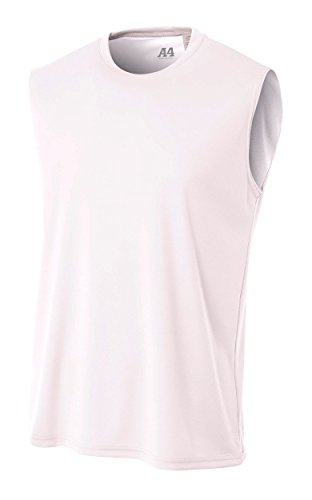 formance Muscle T-Shirt, White, Small ()