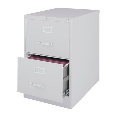 2 Drawer Commercial Letter Size File Cabinet Finish: Light Gray by CommClad