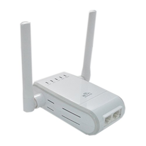 TopePop 300Mbps Wireless-N Range Extender WiFi Repeater Full Coverage Router with Four Modes WPS by TopePop