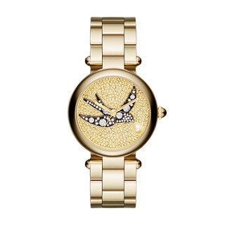 Marc Jacobs Women's Dotty Gold-Tone Watch - MJ3498