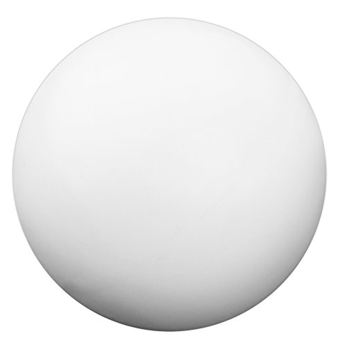 12 Pack of Smooth White Foosballs for Standard Foosball Tables & Classic Tabletop Soccer Game Balls by Brybelly
