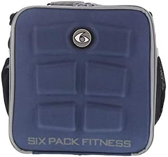 Fitness The Cube - Bolsa para Comida (6 Unidades), Color Azul ...