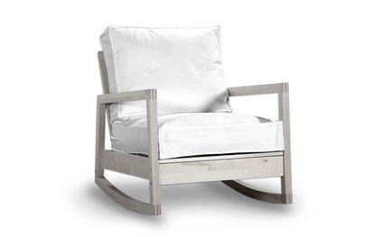 Sedia A Dondolo Per Bambini Ikea : Rivestimento per ikea lillberg poltrona sedia a dondolo in