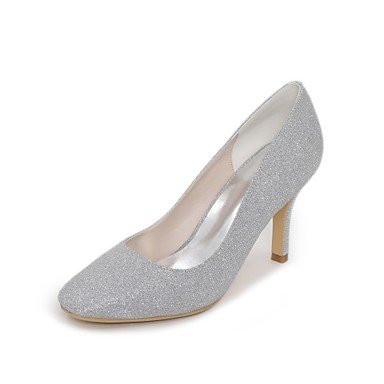 EU39 Spring 3In 4In 5 Evening Party Basic Blue amp;Amp; Ruby 3 5 Silver Shoes Wedding Black UK6 Wedding Women'S RTRY Glitter Heel CN40 Pump Summer Stiletto US8 Gold 3 SwYBHn4qP