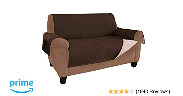 338a2c279 Link Shades New and Improved Anti-Slip Grip Sofa and Couch Protector,  Cover, Slipcover, with Stay Put Straps and Water Resistant Microsuede  Fabric (Sofa, ...