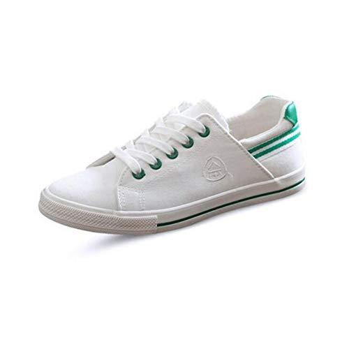 uk6 Faible Blanches Chaussures Plates Étudiant Coréen Les couleur Femme Size Décontractées Aider Fh Pour cn39 Toile Eu39 Printemps A Petites Sauvage xHznqwCICg