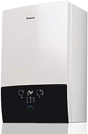 Caldera de condensación DAIKIN 35 kW ultracompacta, calefacción, producción de agua sanitaria instantánea + Kit de humos