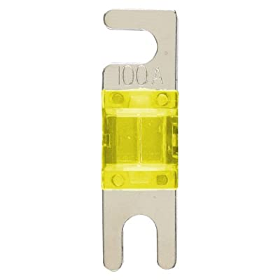 Install Bay MANL100 - 100 Amp Mini ANL Fuses (2 Pack): Car Electronics