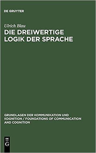 Ebook Descargar Libros Die Dreiwertige Logik Der Sprache Leer PDF