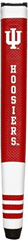 Team Golf NCAA Indiana Hoosiers Golf Putter Grip with Removable Gel Top Ball Marker, Durable Wide Grip & Easy to Control